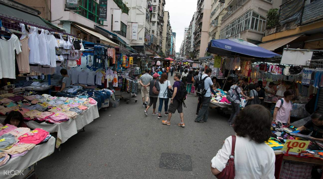 Fa Yuen Street Market hong kong